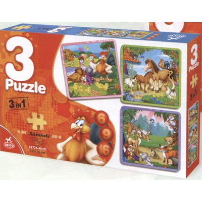 Puzzle Dtoys-63724-AN-01