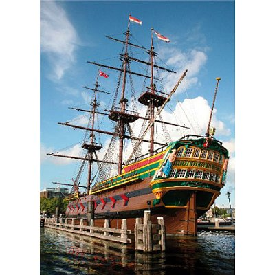 DToys-64288-FP04 Jigsaw Puzzle - 1000 Pieces : Famous Places : Amsterdam, Netherlands