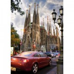 DToys-64288-FP06 Jigsaw Puzzle - 1000 Pieces - Famous Places : La Sagrada Familia, Barcelona, Spain