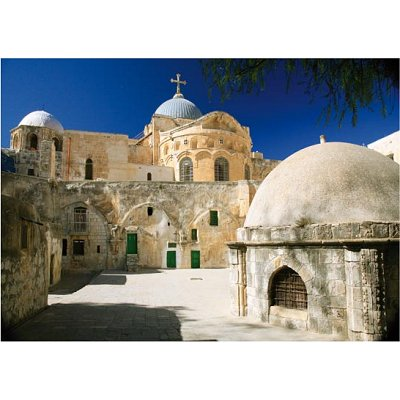 DToys-64288-FP11 Jigsaw Puzzle - 1000 Pieces - Famous Places : Jerusalem, Israel