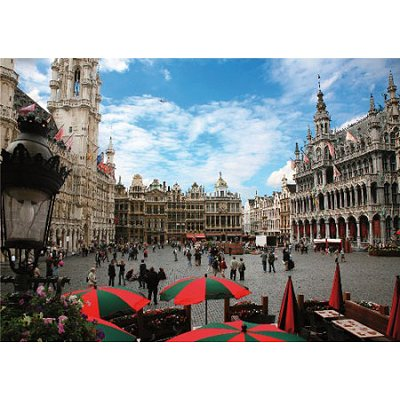 Dtoys-64288 Jigsaw Puzzle - 1000 Pieces - Famous Places : Brussels, Belgium