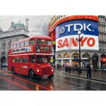 DToys-64301-NL01 Jigsaw Puzzle - 1000 Pieces - Nocturnal Landscapes : Piccadilly Circus, London