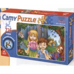Puzzle  Dtoys-65247-CP-01 Hansel and Gretel: pieces in the difficult format