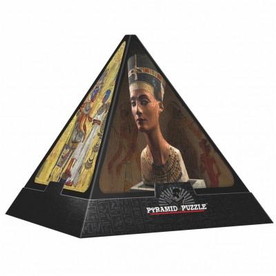 Dtoys-65957-PP01-(65957) Jigsaw Puzzle - 500 Pieces - 3D Pyramid - Egypt : The Gods