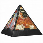 DToys-65957-PP03-(70425) Jigsaw Puzzle - 500 Pieces - 3D Pyramid - Egypt : Paintings