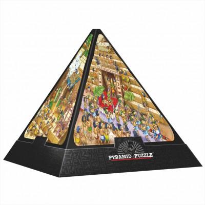 Dtoys-65964 Jigsaw Puzzle - 504 Pieces - 3D Pyramid - Egypt : Cartoon