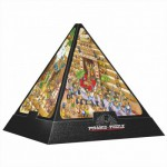 Dtoys-65964-PC01-(65964) Jigsaw Puzzle - 504 Pieces - 3D Pyramid - Egypt : Cartoon