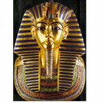 DToys-65971-EY02-(74836) Jigsaw Puzzle - 1000 Pieces - Ancient Egypt : Toutankhamon's Mask