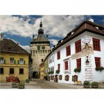 DToys-65995-DE02 Jigsaw Puzzle - 1000 Pieces - Discovering Europe : Schasburg, Sighisoara, Romania