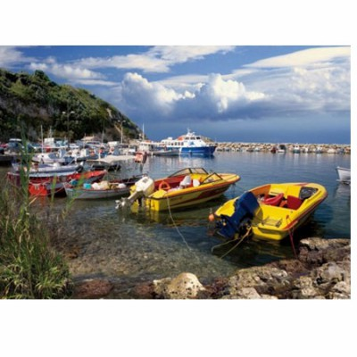 DToys-65995-DE03 Jigsaw Puzzle - 1000 Pieces -- Discovering Europe : Corfu, Greece