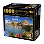Puzzle  Dtoys-65995-DE07 Discover Europe - Como, Italy