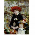 Dtoys-66909 Jigsaw Puzzle - 1000 Pieces - Renoir : On the Terrace