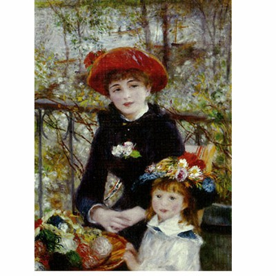 DToys-66909-RE01 Jigsaw Puzzle - 1000 Pieces - Renoir : On the Terrace