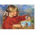 DToys-66909-RE07X-(70296) Jigsaw Puzzle - 1000 Pieces - Renoir : On the Terrace