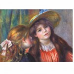 DToys-66909-RE08X Jigsaw Puzzle - 1000 Pieces - Renoir : Two Girls Reading