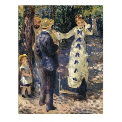 Dtoys-66909-RE10-(70265) Jigsaw Puzzle - 1000 Pieces - Renoir : Gabrielle and Jean