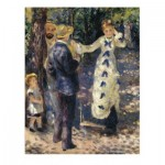 DToys-66909-RE10 Jigsaw Puzzle - 1000 Pieces - Renoir : Gabrielle and Jean