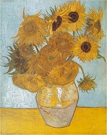 Dtoys-66916 Jigsaw Puzzle - 1000 Pieces - Van Gogh : Sunflowers