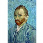 DToys-66916-VG05 Jigsaw Puzzle - 1000 Pieces - Van Gogh : Self-Portrait