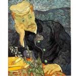 DToys-66916-VG06 Jigsaw Puzzle - 1000 pieces - Van Gogh : Portrait of Doctor Gachet