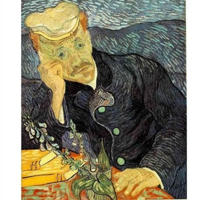 DToys-66916-VG06 Jigsaw Puzzle - 1000 pieces - Van Gogh : Portrait of Doctor Gachet