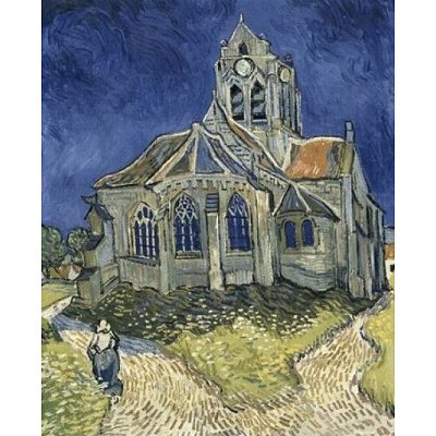 DToys-66916-VG10 Jigsaw Puzzle - 1000 Pieces - Van Gogh : The Church at Auvers