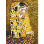 Dtoys-66923-KL01-(66923) Jigsaw Puzzle - 1000 Pieces - Klimt : The Kiss