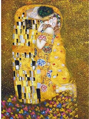 DToys-66923-KL01 Jigsaw Puzzle - 1000 Pieces - Klimt : The Kiss