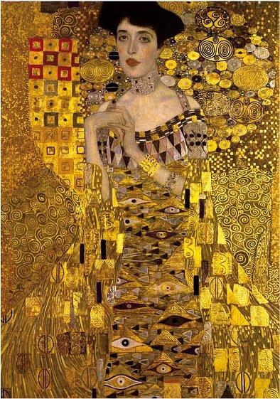 DToys-66923-KL06 Jigsaw Puzzle - 1000 Pieces - Klimt : Adele Bloch-Bauer I