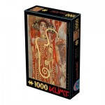 Puzzle  Dtoys-66923-KL11-(74553) Gustav Klimt - Hygieia, 1900
