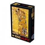 Puzzle  Dtoys-66923-KL12-(74560) Gustav Klimt: The Hug