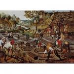 Dtoys-66947-BR01-(66947) Jigsaw Puzzle - 1000 Pieces - Brueghel : Spring