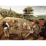 DToys-66947-BR02 Jigsaw Puzzle - 1000 Pieces - Brueghel : Summer