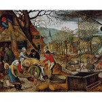 DToys-66947-BR03-(70012) Jigsaw Puzzle - 1000 Pieces - Brueghel : Autumn