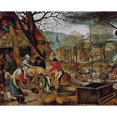 DToys-66947-BR03 Jigsaw Puzzle - 1000 Pieces - Brueghel : Autumn