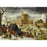 DToys-66947-BR04 Jigsaw Puzzle - 1000 Pieces - Brueghel : Winter