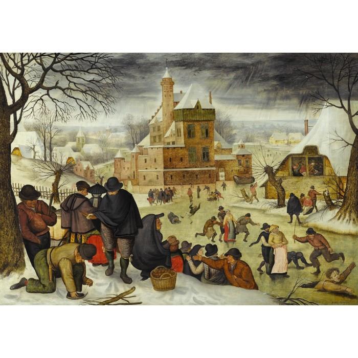 Jigsaw Puzzle - 1000 Pieces - Brueghel : Winter