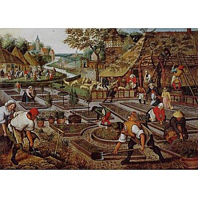 Dtoys-66947 Jigsaw Puzzle - 1000 Pieces - Brueghel : Spring