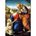 DToys-66954-RN02 Jigsaw Puzzle - 1000 Pieces - Renaissance - Raphael : Holy Family with Lamb