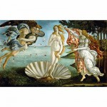 DToys-66954-RN04 Jigsaw Puzzle - 1000 Pieces - Renaissance - Botticelli : The Birth of Venus