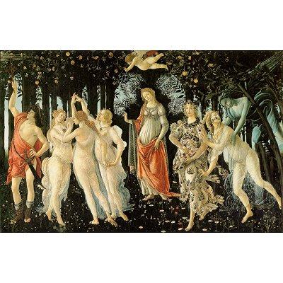 DToys-66954-RN05 Jigsaw Puzzle - 1000 pieces - Renaissance - Botticelli : Spring