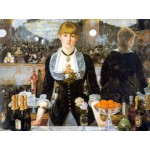 Dtoys-66961 Jigsaw Puzzle - 1000 Pieces - Impressionism - Manet : Bar at the Folies-Bergeres