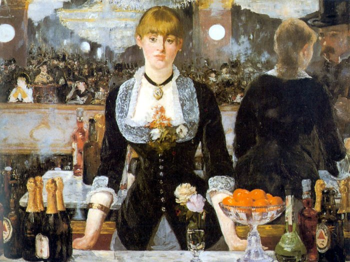 DToys-66961-IM01 Jigsaw Puzzle - 1000 Pieces - Impressionism - Manet : Bar at the Folies-Bergeres