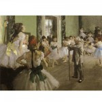 DToys-66961-IM03 Jigsaw Puzzle - 1000 Pieces - Impressionism - Degas : Dance Examination