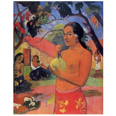 DToys-66961-IM06 Jigsaw Puzzle - 1000 Pieces - Impressionism - Gauguin : Where are you going ?