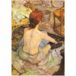 DToys-66961-IM07 Jigsaw Puzzle - 1000 Pieces - Impressionism - Lautrec : Woman at her Toilette