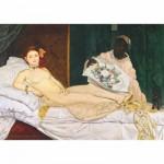 DToys-66961-IM08 Jigsaw Puzzle - 1000 Pieces - Impressionism - Manet : Olympia