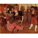 DToys-66978-TL03 Jigsaw Puzzle - 515 Pieces - Henri de Toulouse-Lautrec:Marcelle Lender doing the Bolero in Chilperic