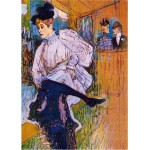 DToys-66978-TL04 Jigsaw Puzzle - 515 Pieces - Henri de Toulouse-Lautrec : Jane Avril Dancing