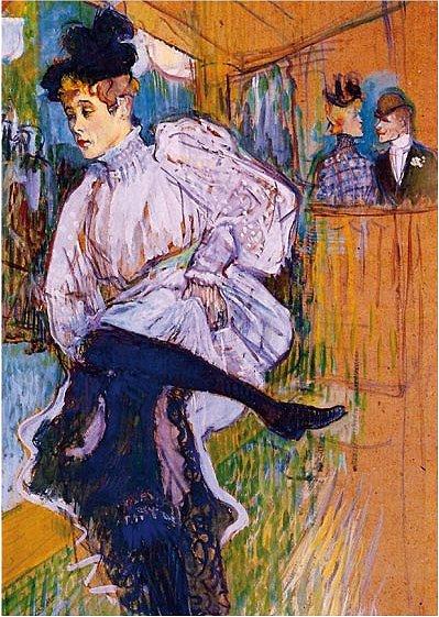 DToys-66978-TL04 Jigsaw Puzzle - 515 Pieces - Henri de Toulouse-Lautrec : Jane Avril Dancing